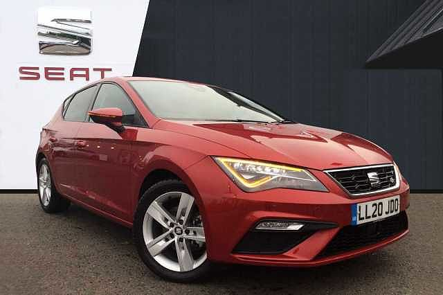 SEAT Leon 5dr 2.0TDI (150ps) FR Black Edition DSG